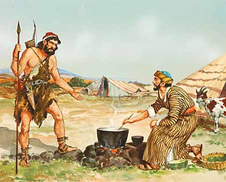 LIFE & TIMES OF Esau   (Twin brother to Jacob)